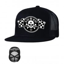 Baseball sapka BLACK HEART Flag Trucker
