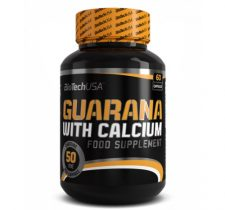 BioTech USA GUARANA WITH CALCIUM - 60 KAPSZULA