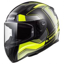 Bukósisak LS2 FF353 Rapid Carrera Black H-V Yellow