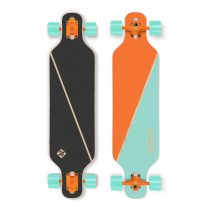 Longboard Street Surfing Freeride - Nordic Orange 39""