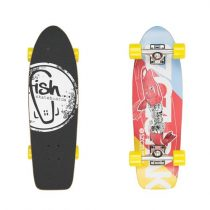 Mini longboard Fish Old School Cruiser Szczupak 26""