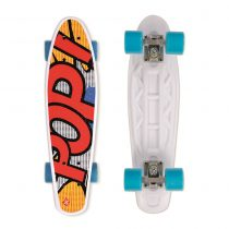Műanyag gördeszka Street Surfing POP BOARD Popsi Yellow