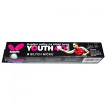 Pingpong labda Butterfly YOUTH 6 db