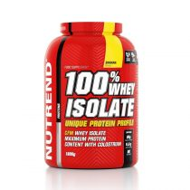 Por koncentrátum Nutrend 100% WHEY Isolate 1800g