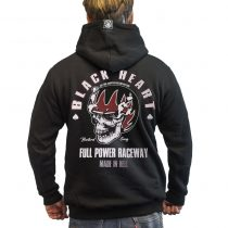 Pulóver BLACK HEART Full Power Zip